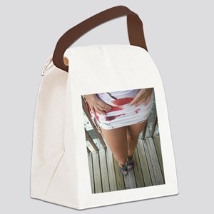 Hot Legs Canvas Lunch Bag