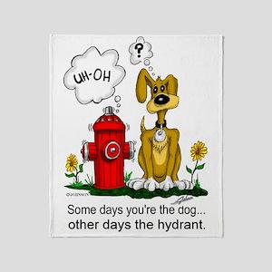 Hydrant Throw Blanket