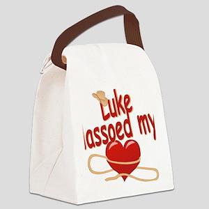 luke-b-lassoed Canvas Lunch Bag