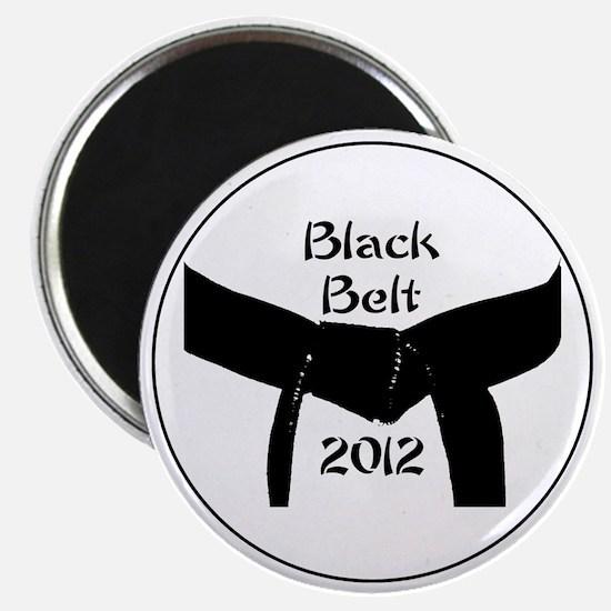 Martial Arts Black Belt 2012 Magnet