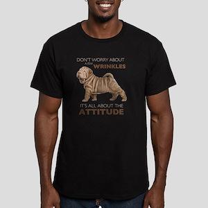 attitude Men's Fitted T-Shirt (dark)
