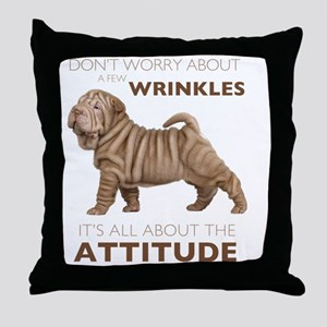 attitude2 Throw Pillow