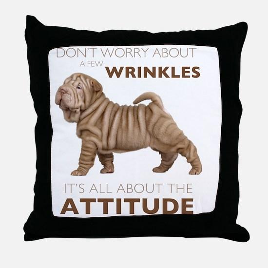 attitude2 Throw Pillow