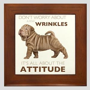attitude2 Framed Tile