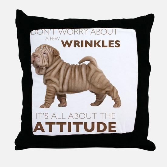 attitude3 Throw Pillow