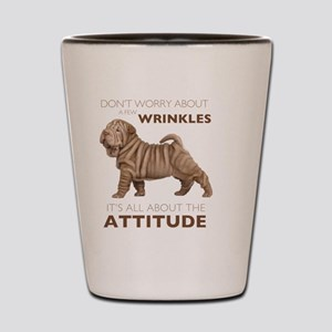 attitude3 Shot Glass