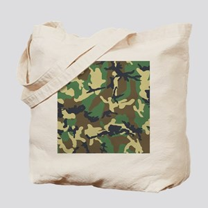 Camo Pattern Tote Bag