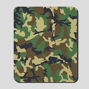 Camo Pattern Mousepad