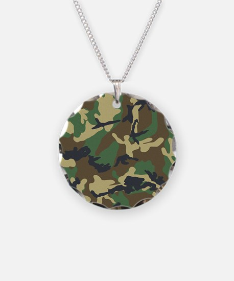 Camo Pattern Necklace