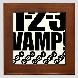 1-2-3 VAMP! Framed Tile