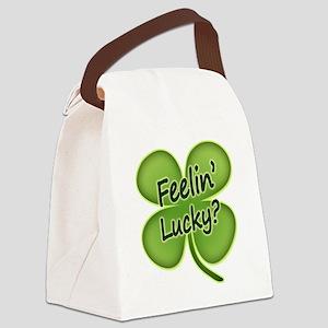 feelinlucky2012 Canvas Lunch Bag