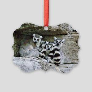 Lemurs Picture Ornament