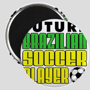 Future Brazilian Soccer Player Magnet