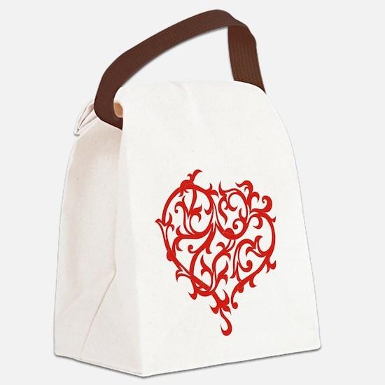 tribal-heart-tattoo-design.gif Canvas Lunch Bag