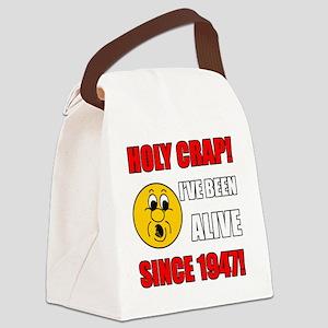 HolyCrap1947 Canvas Lunch Bag