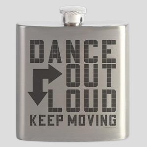 dance out loud black font bold for dancebay  Flask