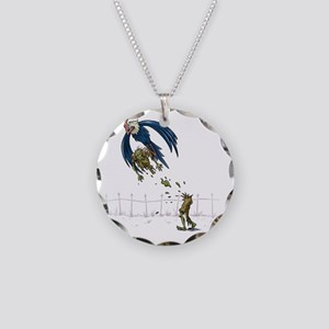 026 Necklace Circle Charm