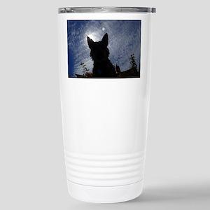 Stealthy Cattle Dog Travel Mug