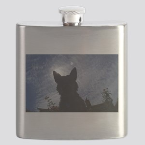 Stealthy Cattle Dog Flask