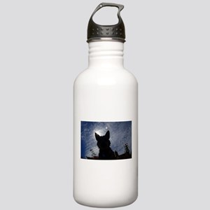 Stealthy Cattle Dog Water Bottle