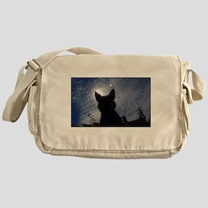 Stealthy Cattle Dog Messenger Bag