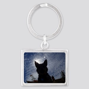 Stealthy Cattle Dog Keychains