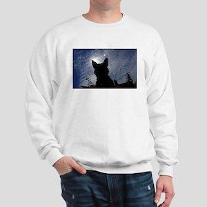 Stealthy Cattle Dog Sweatshirt