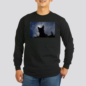 Stealthy Cattle Dog Long Sleeve T-Shirt