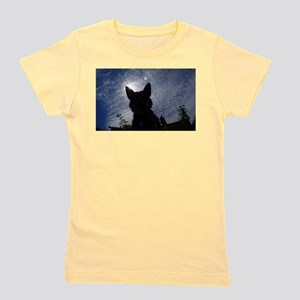 Stealthy Cattle Dog Girl's Tee