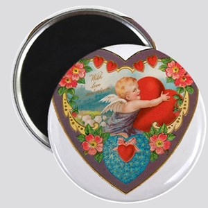 Cupid With Love and Esteem Magnet