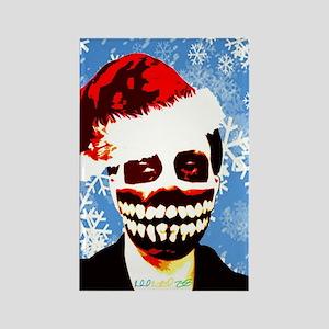 Monster Christmas Rectangle Magnet
