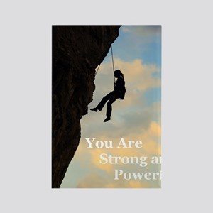 You_Are_Strong_and_Powerful Rectangle Magnet
