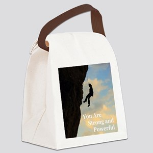 You_Are_Strong_and_Powerful Canvas Lunch Bag