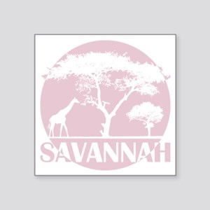 "savaglx Square Sticker 3"" x 3"""
