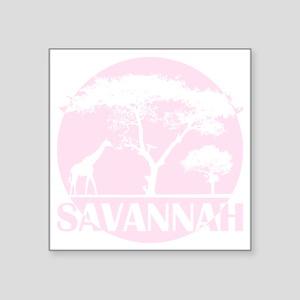 """savaaqua Square Sticker 3"""" x 3"""""""