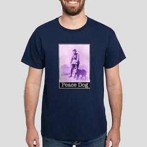PEACE DOG Dark T-Shirt