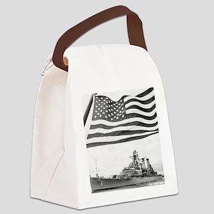 providence framed panel print Canvas Lunch Bag