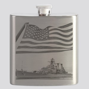 providence framed panel print Flask