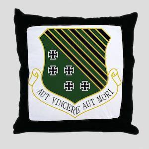 1st FW - Aut Vincere Aut Mori Throw Pillow