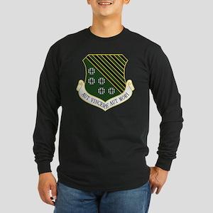1st FW - Aut Vincere Aut  Long Sleeve Dark T-Shirt
