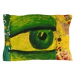 The Eye - Gold & Emerald Awareness Pillow Case