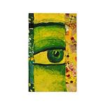 The Eye - Gold & Emerald Awareness 3'x5' Area Rug