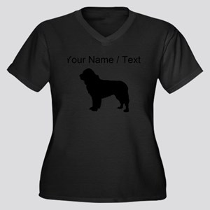 Custom Newfoundland Plus Size T-Shirt