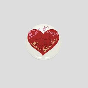 Love_chocolateshirt_vertical copy Mini Button