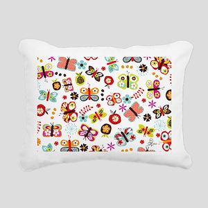 laptop05 Rectangular Canvas Pillow
