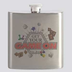 Get Your Game On - Black Flask
