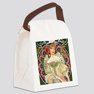 Pillow Mucha Champ Canvas Lunch Bag