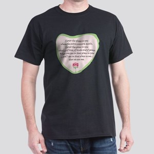 namaste-front Dark T-Shirt