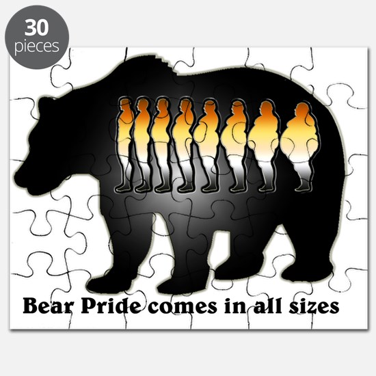 Bear Pride comes in all sizes Puzzle