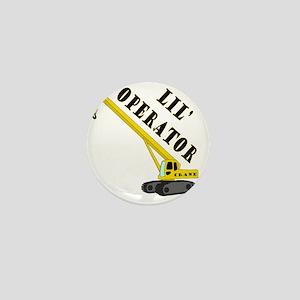 Lil Crane Operator Mini Button